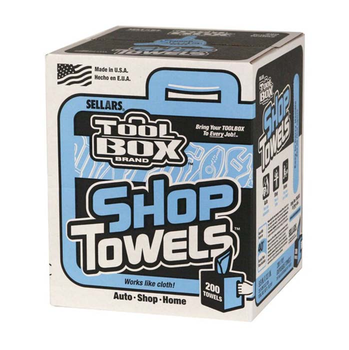 Shop Towels, 200 ct, Box