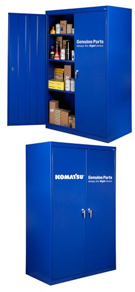 Tool Storage, 72″ Komatsu Shop Cabinet – Komatsu