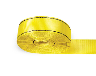 Recovery Strap, 30′ x 3″  Heavy Duty with Loops – 27,000 lb