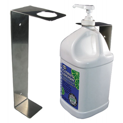 Hand Cleaner, Bracket for 1 Gallon Dispenser