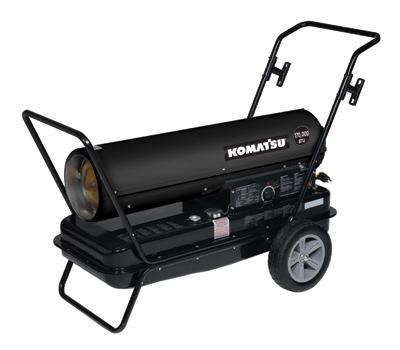 Forced Air Heater _ 170,000 BTUs – Komatsu