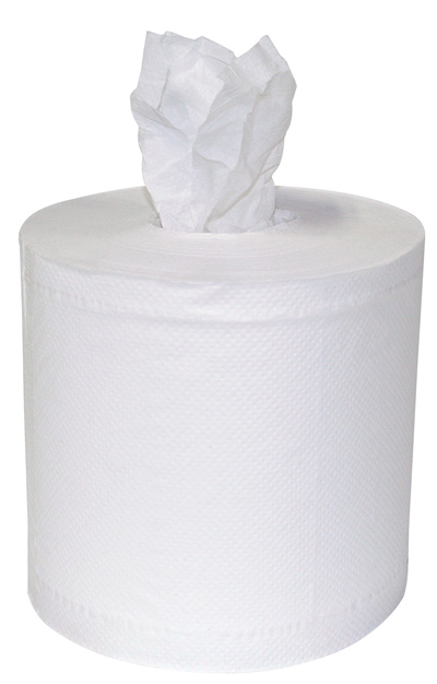 2-Ply White Center Pull Towel