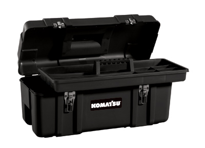 Tool Storage, 20″ Black Plastic Hand Box