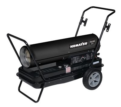 Forced Air Heater _ 210,000 BTUs – Komatsu