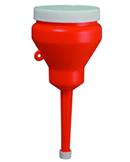Funnel, 1 Pint Capped, Komatsu