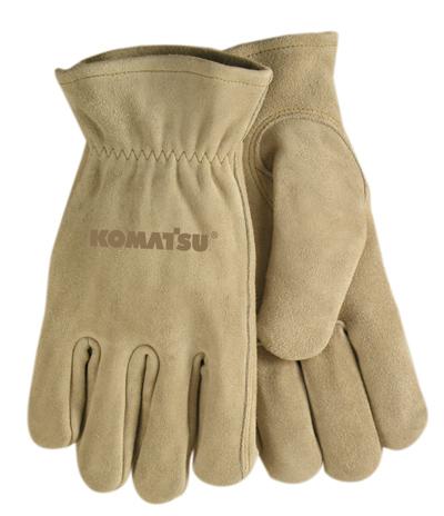 Gloves, Suede Cowhide – Komatsu