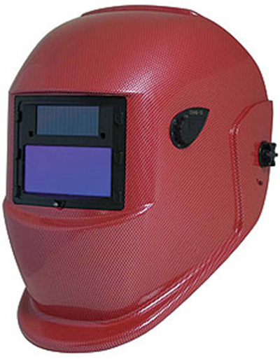 Welding Helmet, Solar Powered Auto Darkening