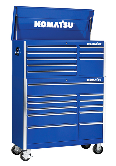 Tool Storage, 41″ Tool Chest and Cabinet – Komatsu