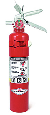 Fire Extinguisher, ABC, 2.5 lb
