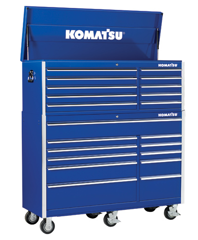 Tool Storage, 56″ Tool Chest and Cabinet – Komatsu