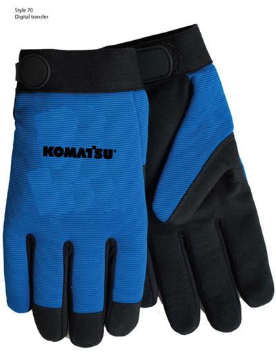 Gloves, Mechanic – Komatsu