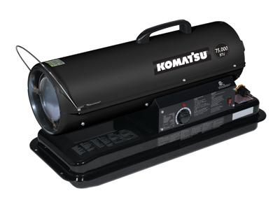 Forced Air Heater _ 75,000 BTUs – Komatsu