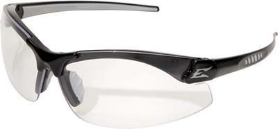 Eyewear, Zorge Series Black / Clear Lens