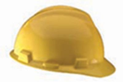 Hard Hat, V-Gard Cap Style -Yellow