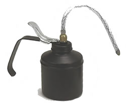 Oil Can, Lever, 1 Pint, complete with flex spout