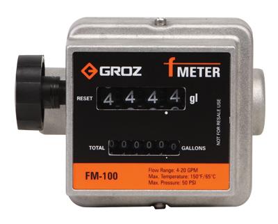 Fuel Meter, Mechanical (Gallons) , 1″ NPT (F)