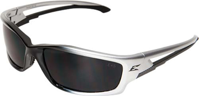 Eyewear, Kazbek Series, Silver / Black / Smoke Lens