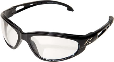 Eyewear, Turbo-Dak Series, Black / Clear Lens