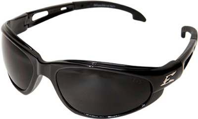 Eyewear, Turbo-Dak Series, Black / Smoke Lens