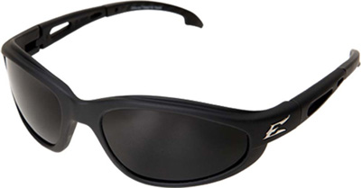 Eyewear, Turbo-Dak Series, Black /  Polarized Smoke Lens