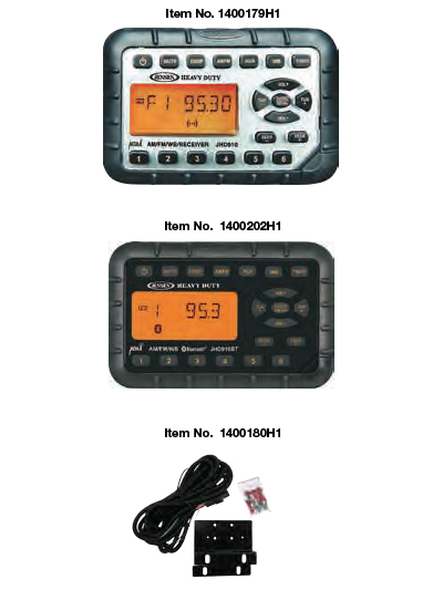 Heavy Duty MINI Waterproof AM/FM/WB Radio
