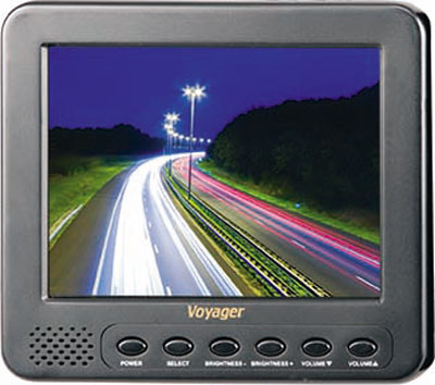 Voyager 5.6″ Medium Duty Rear View LCD Monitor with Two Camera Inputs