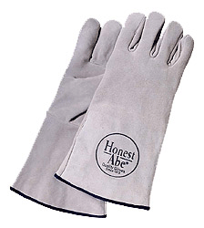 Welders Gloves Suede Cowhide