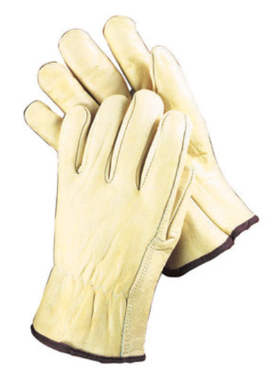 Pearl Gray 14″ Shoulder Split Cowhide Welders Gloves