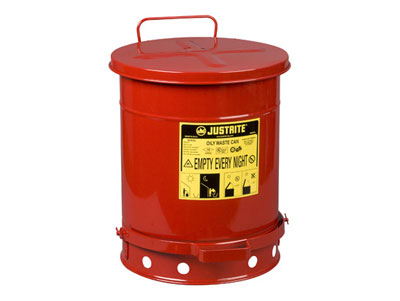 10 Gallon Self Closing Disposal Can