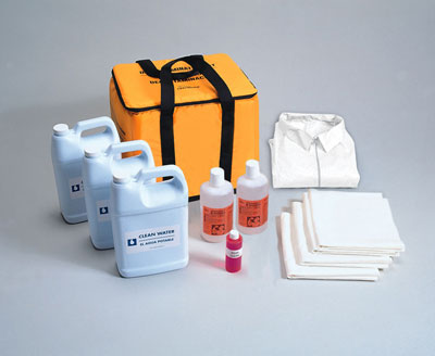 Portable Insulated Decontamination Kit
